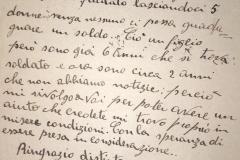 Vedova di un martire della Romagna chiede aiuto